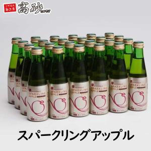 スパークリングアップル 200ml×24本|takasago-mejya