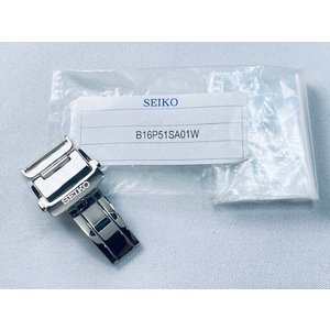 B16P51SA01W SEIKO 純正Dバックル 16mm STXD001/3X22-0AA0他用 ネコポス送料無料 takayama-watch