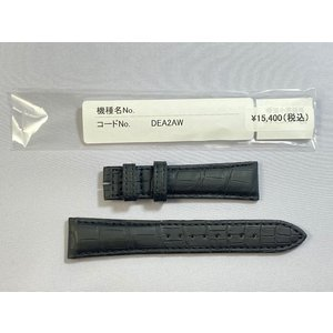 DEA2AW SEIKO グランドセイコー 19mm 純正革ベルト クロコダイル ブラック SBGR021/9S55-0010用 ネコポス送料無料 takayama-watch