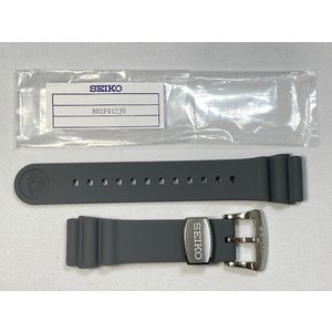 R02F012J0 SEIKO セイコー 22mm プロスペックス 純正シリコンラバーバンド グレー SRPA19K1/4R36-05D0他用 ネコポス送料無料 takayama-watch