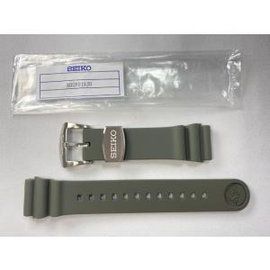R02F019J0 SEIKO プロスペックス 22mm 純正シリコンバンド グリーン カーキ SB...