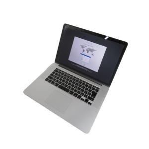 Apple アップル『MacBook Pro Retinaディスプレイ 2500 15.4』MGXC2J A Mid 2014 512GB OS High Sierra ノートPC の商品画像