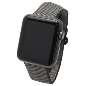 【Apple】【アップルウォッチ】アップル『Apple Watch Sport 38mm ブラックウーブンナイロン』MMF62J/A ボーイズ ウェアラブル端末 1週間保証【中古】 takayama78