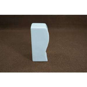 調味料入れ おしゃれ 3穴 白い アウトレット 四角 磁器 陶器 アウトレット takayama