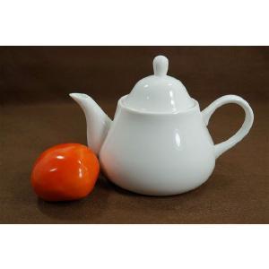 350cc 小さめポット※茶こしなし  ホワイト/シンプル/白い食器/急須/ポット/茶器/|takayama