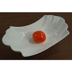 【高品質】 白い食器 貝型シェルプレート カレー皿 パスタ皿  洋食器 食器 カフェ 人気 激安 アウトレット食器【パッケージ無し品】|takayama