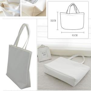 キャンバスエコバッグ トートバッグ エコバッグ コットン エコトートバッグ 厚手 買い物バッグ 大きい 送料無料|takayama|11