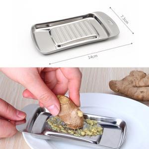 しょうがおろし にんにくおろし 薬味 おろし器 ステンレス製  わさびおろし すりおろし器 おろしスプーン 生姜おろし おろし金 送料無料|takayama
