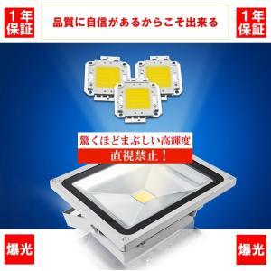 薄型LED投光器 屋外 3mコード プラグ付 20W 200W相当 防水 LEDライト 作業灯 集魚灯 防犯 駐車場灯 看板照明  昼光色 一年保証|takayama|03
