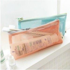 送料無料 2色選択可 お風呂 袋 温泉ポーチ 専用バッグ 小物収納  収納力たっぷり 旅行 出張 ジム 通気性抜群!旅行かばんの整理|takayama