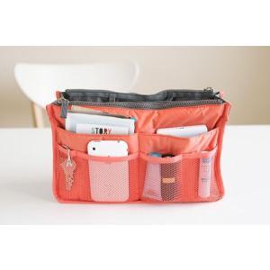 期間限定 送料無料 全12色 バッグインバッグ 旅行 化粧品 収納たっぷり インナーバッグ バッグ コスメポーチ 男女兼用 BAG IN BAG 代引き時間指定不可|takayama|02