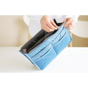 期間限定 送料無料 全12色 バッグインバッグ 旅行 化粧品 収納たっぷり インナーバッグ バッグ コスメポーチ 男女兼用 BAG IN BAG 代引き時間指定不可|takayama|04