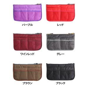 期間限定 送料無料 全12色 バッグインバッグ 旅行 化粧品 収納たっぷり インナーバッグ バッグ コスメポーチ 男女兼用 BAG IN BAG 代引き時間指定不可|takayama|05