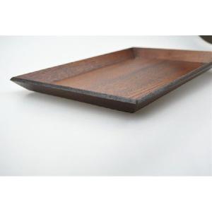 木製トレー 30cm×20cm×H1.5cm 1尺 ナチュラルスタックトレー トレイ/天然木/お膳/お茶/長角膳/再入荷 大人気|takayama|02