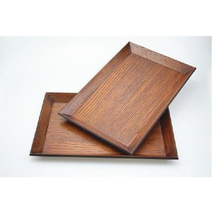 木製トレー 30cm×20cm×H1.5cm 1尺 ナチュラルスタックトレー トレイ/天然木/お膳/お茶/長角膳/再入荷 大人気|takayama|04