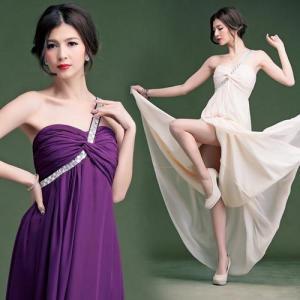 h023 パーティードレス 結婚式 二次会 花嫁 ワンピース ミニドレス ロングドレス カラードレス ミディアム キャバドレス あすつく take-shop