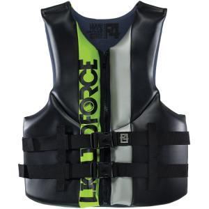 【LIQUID FORCE】VORTEX CGA VEST BLACK/GREEN  リキッドホース ライフジャケット|take88