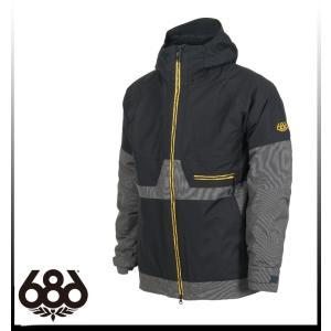 ハイエンドモデル【SALE】【686】シックスエイトシックス AUTH Smarty Network Jacket BLACK ジャケット メンズ|take88