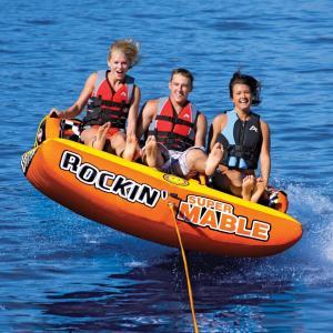 【SALE】SPORTSSTUFF ROCKIN MABLE 3 3人乗り ロッキンマーブル3 トーイングチューブ/ウォータートーイ/バナナボート/スポーツスタッフ 53-2263|take88