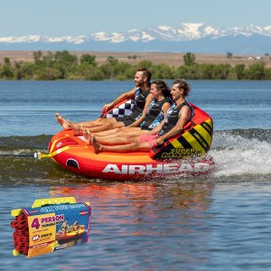 SPORTSSTUFF SUPER MABLE 3人乗り スーパーマーブル トーイングチューブ/ウォータートーイ/スポーツスタッフ/53-2223/ロープ付き|take88