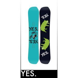 【17-18】YES GREATS UNINC 152cm イエス スノーボード take88