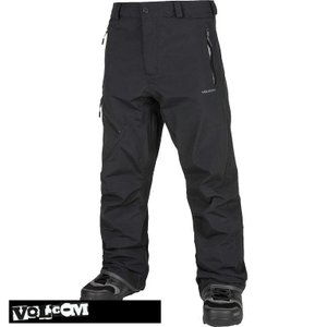 【17-18】VOLCOM L GORE-TEX PNT BLACK ボルコム スノーボードウェア メンズ G1351804 take88