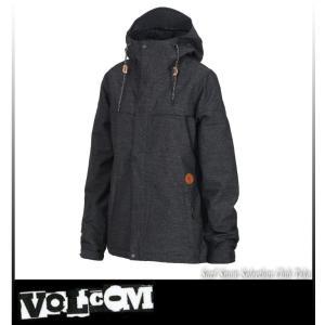 【17-18】VOLCOM ボルコム BOLT JKT BLACK スノーボードウェア レディース H0451809 take88