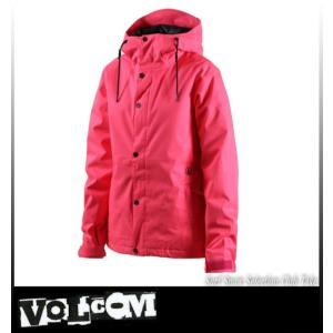 【17】VOLCOM ボルコム BOLT JKT PINK スノーボードウェア レディース H0451708|take88