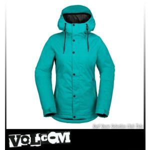 【16-17】VOLCOM ボルコム BOLT JKT TEAL スノーボードウェア レディース H0451708 take88