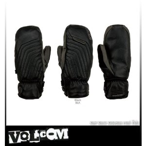 【16-17】 VOLCOM SFD Powder Mitt GORE-TEX BLACK ボルコム ミトン ゴアテックス メンズ J6851701『2営業日以内発送』 take88