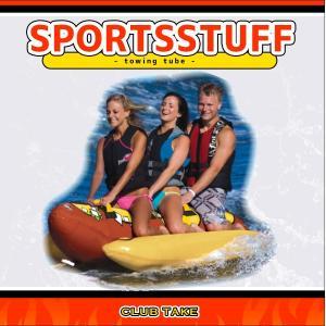 SPORTSSTUFF Hot Dog 3 Towable ホットドッグ NEWモデル 3人乗り トーイングチューブ/ウォータートーイ/バナナボート/スポーツスタッフ 53-3060|take88