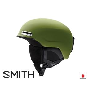 18-19 SMITH Maze Matte MOSS スミス ヘルメット アジアンフィット 日本正規品|take88