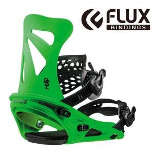 【18-19】FLUX DSL NEON GREEN フラックス ビンディング メンズ|take88