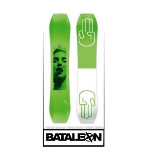 18-19 BATALEON バタレオン WALLIE 154 ウォーリー スノーボード 板 メンズ 日本正規品 take88