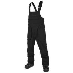【19-20】VOLCOM ROAN BIB OVERALL BLACK ボルコム スノーボードウェア メンズ G1351909|take88