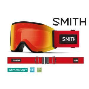 日本正規品 2020-2021 SMITH スミス スカッドマグ SMITH SQUAD MAG THE NORTH FACE コラボ 調光レンズ JAPANFIT アジアンフィット スノーボード|take88