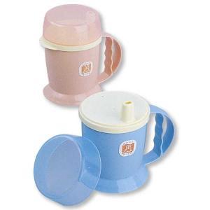 吸い飲み 食事介助商品 食事補助用品 介護用品 吸い口付マグカップ|takecare-delivery