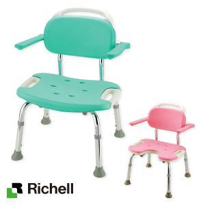 介護用品 風呂 入浴 椅子 高齢者 やわらかシャワーチェア ワイドシリーズ 肘掛付き|takecare-delivery