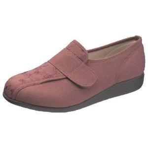 介護靴-外出用 快歩主義L052 レンガ 24.0-25.0 4E 在庫処分品 takecare-delivery