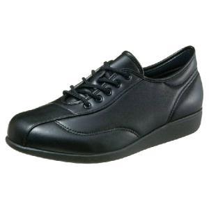 介護靴-外出用 快歩主義 M024 ブラックスムース 28.0cm 4E 男性用 在庫処分品 takecare-delivery