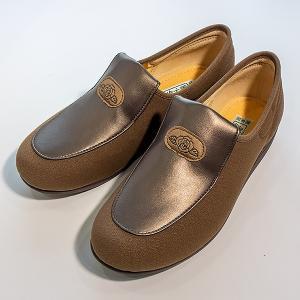 在庫処分品 介護用シューズ 介護用品 介護靴 女性用 アサヒシューズ 快歩主義 L122 23.5cm オーク takecare-delivery