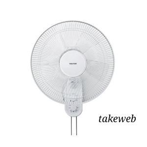 テクノス 40cm壁掛けメカ扇風機 KI-W422 |takeden-toshi