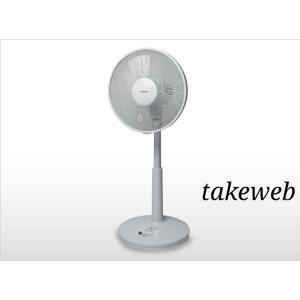 テクノス 30cmリビングメカ扇風機 KI−1730W|takeden-toshi