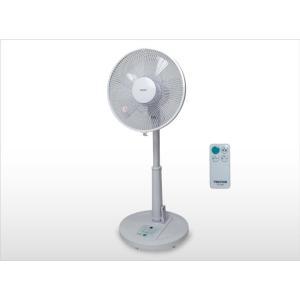 テクノス 30cmリビングリモコン扇風機 KI−166R|takeden-toshi