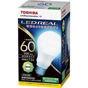 TOSHIBA 東芝ライテック LED電球 E26口金 一般電球形 全方向タイプ 白熱電球 60W形相当 昼白色  LDA7N-G/60W|takeden-toshi
