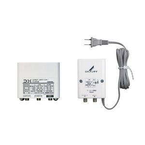 DXアンテナ CU43A BS/CS/ UHF用ブースター (33dB/ 43dB共用形) 屋外用デュアルブースター (GCU433D1相当品 2K対応 WEB専用モデル)|takeden-toshi