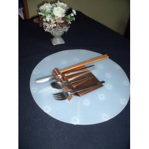 銅製 カトラリーレスト A-1 (スプーン フォーク ナイフ 箸 置き) 1セット5個 5800円 送料込 |takei-co