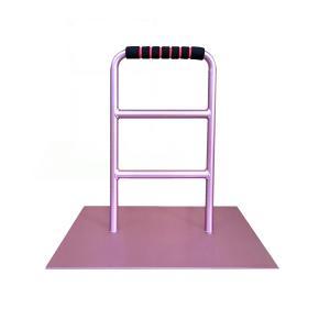 立つ之助 元気2 立ち上がり補助 器具 手すり 介護 布団 など 座った体勢から起き上がりに スチール素材 薄あずき色 日本製|takei-co