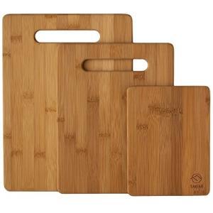 【天然素材】TAKEMI 竹製 まな板 3点セット 抗菌 軽量な環境に優しい 竹 の カッティングボード TM-CB3Pの画像