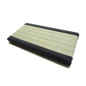 ミニチュア畳 1畳(黒縁)【サイズ/18cm×9cm】 純国産イグサ使用|takenomise